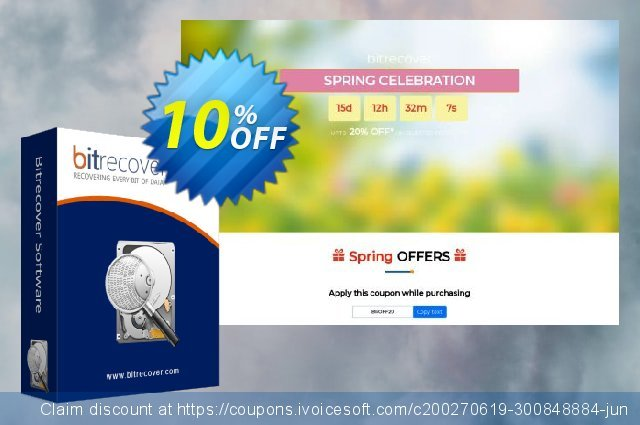 BitRecover PST Password Recovery Wizard discount 10% OFF, 2020 Halloween offering deals