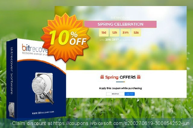 BitRecover PST Repair - Migration License discount 10% OFF, 2020 Xmas Day promotions