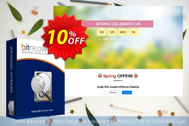 BitRecover PST Repair discount 10% OFF, 2020 Thanksgiving Day promotions