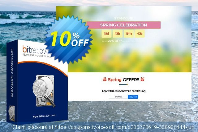 BitRecover Data Recovery Wizard discount 10% OFF, 2020 Halloween promo