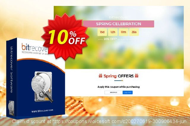 BitRecover Windows Live Mail Converter Wizard - Pro License discount 10% OFF, 2020 Halloween offering sales