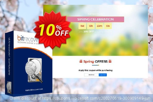 BitRecover DBX Converter - Migration License discount 10% OFF, 2020 Christmas & New Year offering sales