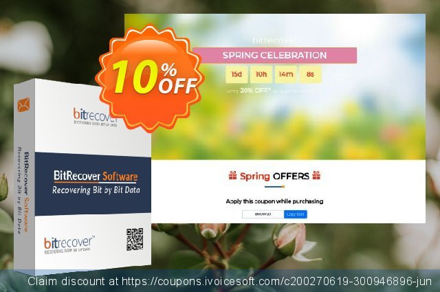 BitRecover QuickData OST Converter discount 10% OFF, 2021 Handwashing Day offering sales. Coupon code QuickData OST Converter - Standard License