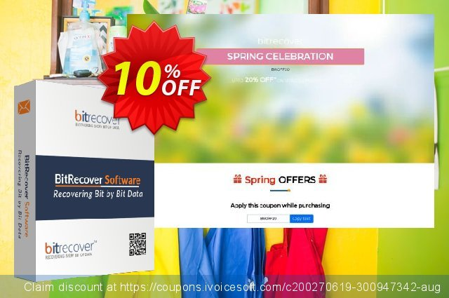 BitRecover QuickData MSG to PDF Converter - Pro License discount 10% OFF, 2020 Halloween offering deals