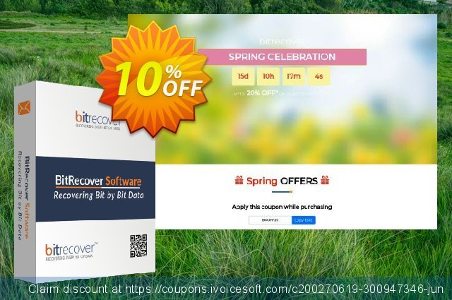 BitRecover QuickData MBOX to PDF Converter - Pro License discount 10% OFF, 2020 Halloween offering sales
