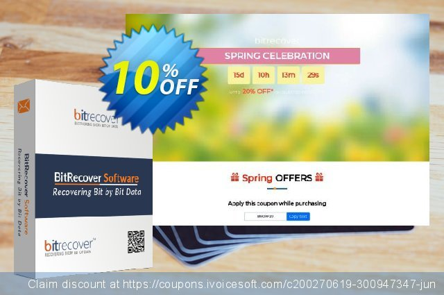 BitRecover QuickData PST to PDF Converter discount 10% OFF, 2020 Halloween offering sales