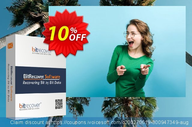 BitRecover QuickData Email Backup Wizard 可怕的 促销销售 软件截图