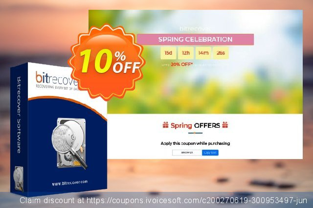 BitRecover VMFS Recovery Software discount 10% OFF, 2020 Halloween offering sales
