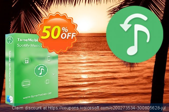 TuneMobie Spotify Music Converter for Mac (Lifetime License)  굉장한   촉진  스크린 샷