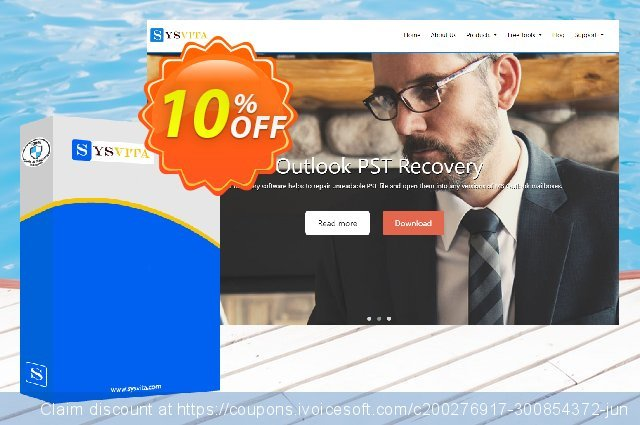 vMail PST Repair Software :- Technical License discount 10% OFF, 2019 Teacher deals offering sales