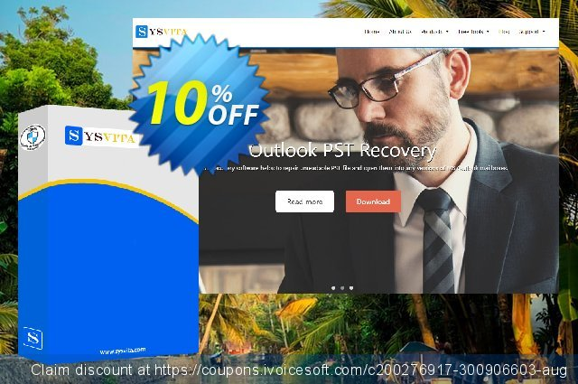 vMail Excel to PST Converter - Personal License  서늘해요   프로모션  스크린 샷