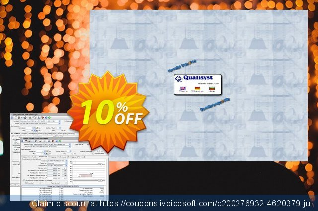QMSYS Bundle Threads, Tools & Gauges + Tolerances & Gauges discount 10% OFF, 2020 Christmas & New Year offering sales