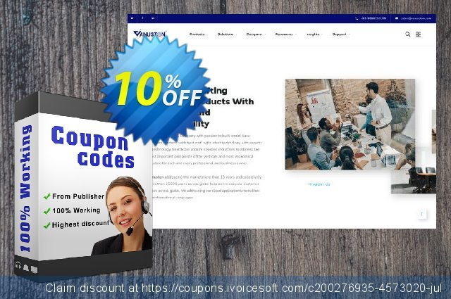Vanuston MEDEIL Express discount 10% OFF, 2021 Happy New Year promotions