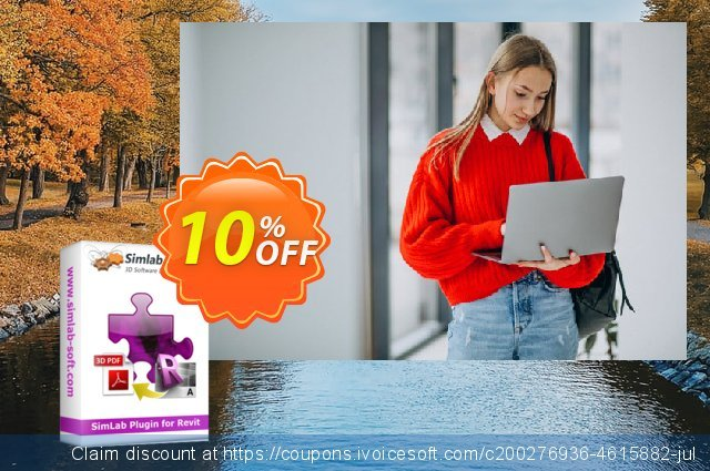 Visably 3D PDF for Revit discount 10% OFF, 2020 Halloween offer