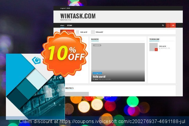 Wintask 32 bit with 2 years of free upgrades: discount 10% OFF, 2021 Halloween promo sales. Wintask 32 bit with 2 years of free upgrades: Amazing discounts code 2021