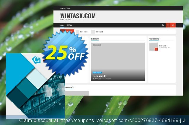 WinTask x64 discount 25% OFF, 2020 Back to School coupons offering deals