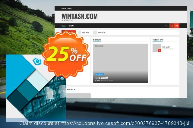 Wintask discount 25% OFF, 2021 Mother Day offering sales. 25%OFF