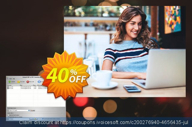 Aostsoft EMF to PDF Converter discount 40% OFF, 2020 Thanksgiving Day offering sales