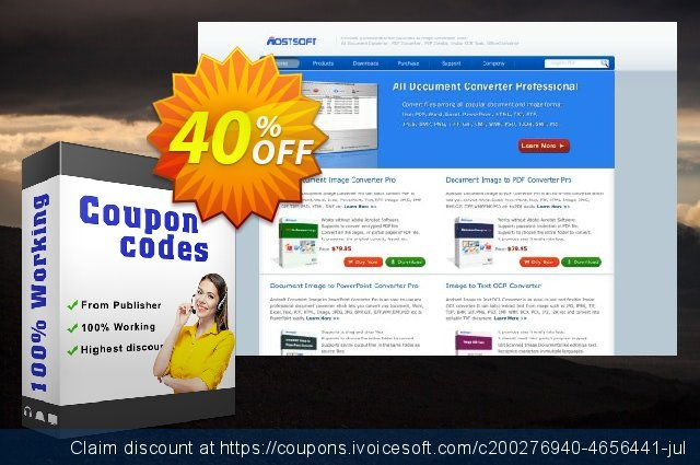 Aostsoft GIF to PowerPoint Converter discount 40% OFF, 2021 New Year offering sales