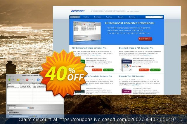 Aostsoft PDF to GIF Converter discount 40% OFF, 2020 Thanksgiving promotions
