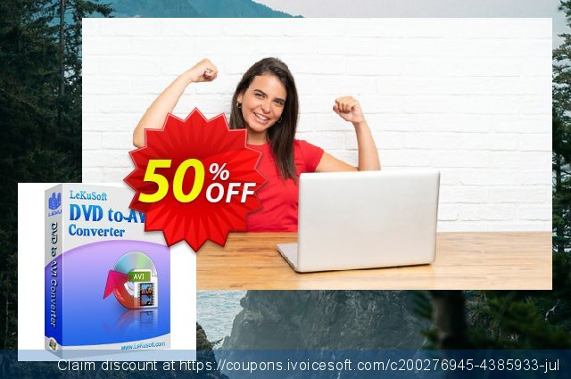 LeKuSoft DVD to AVI Converter discount 40% OFF, 2020 Back-to-School promotions offering sales