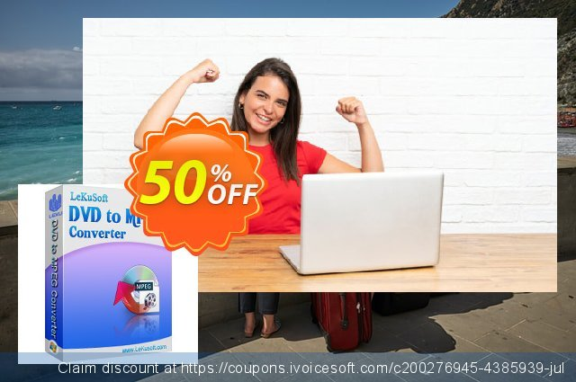 LeKuSoft DVD to MPEG Converter discount 40% OFF, 2020 Exclusive Student deals offering sales