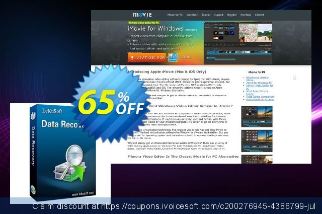 LeKuSoft Data Recovery discount 30% OFF, 2019 Halloween offering discount