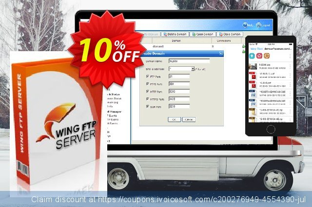 Wing FTP Server - Secure Edition for Solaris 대단하다  세일  스크린 샷