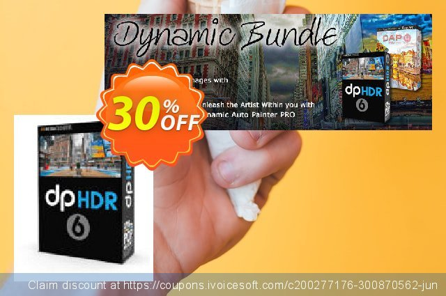 Get 10% OFF Dynamic Photo HDR offering discount