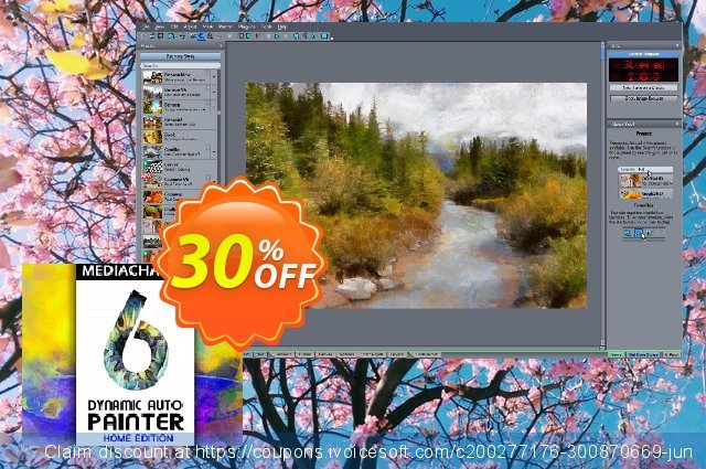 Dynamic Auto Painter 6 HOME Edition discount 10% OFF, 2020 Halloween offering sales