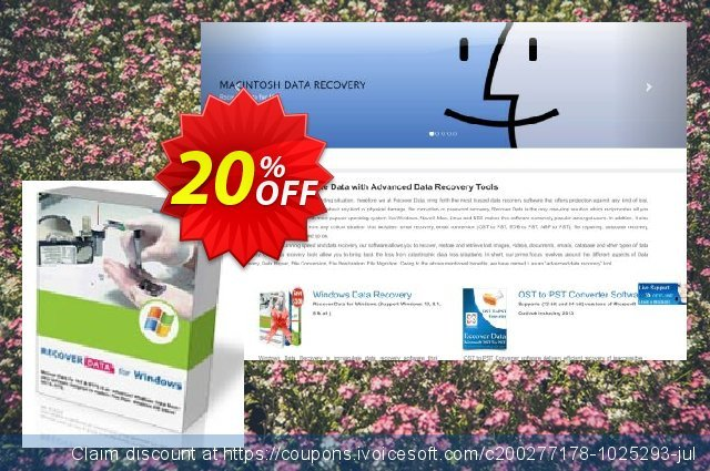 Recover Data for NTFS - Corporate License discount 10% OFF, 2020 Thanksgiving offering sales