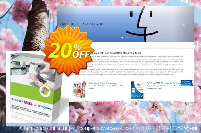 Recover Data for NTFS - Technician License 대단하다  촉진  스크린 샷