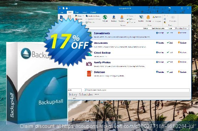 Backup4all discount 17% OFF, 2020 College Student deals promotions