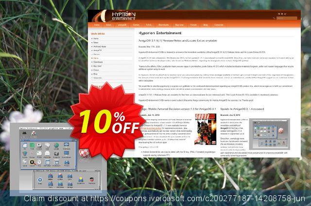 AmigaOS 3.1.4 for 68K Amiga 1200  굉장한   촉진  스크린 샷