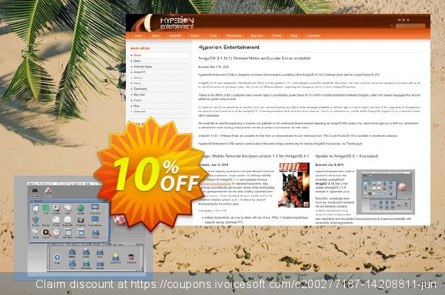 AmigaOS 3.1.4 for 68K Amiga 4000T  대단하   가격을 제시하다  스크린 샷
