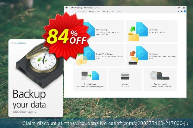 O&O DiskImage Server discount 50% OFF, 2019 New Year's Day offering sales