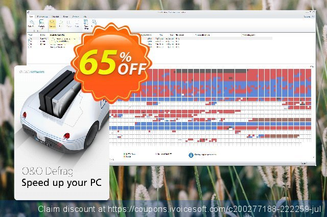 O&O Defrag Professional (for 5 Pcs) discount 50% OFF, 2020 Back to School event offer