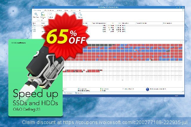 O&O Defrag Workstation discount 50% OFF, 2019 Year-End discounts