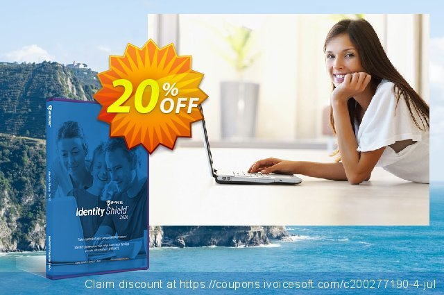 VIPRE Identity Shield discount 20% OFF, 2020 Thanksgiving deals