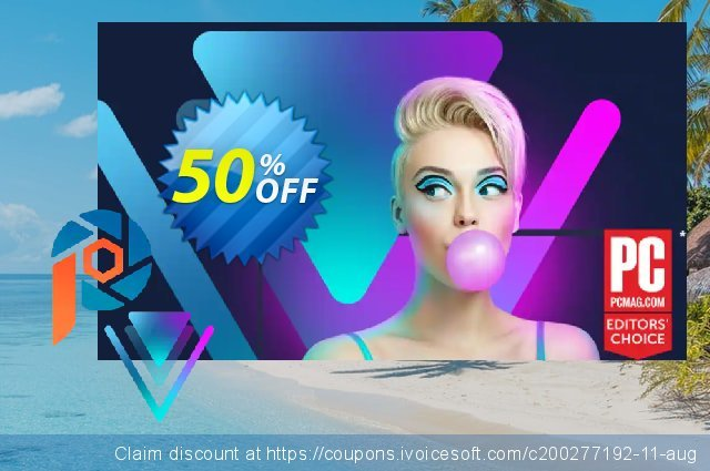 Corel Photo Video Bundle Ultimate: PaintShop Pro 2021 Ultimate + VideoStudio Ultimate 2020 可怕的 优惠券 软件截图