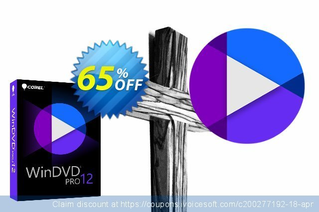 Corel WinDVD Pro 12 discount 65% OFF, 2020 End year offering sales