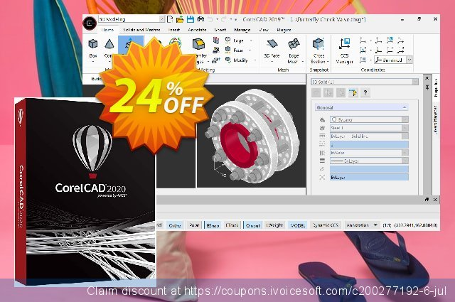CorelCAD 2020 discount 24% OFF, 2020 Fourth of July sales