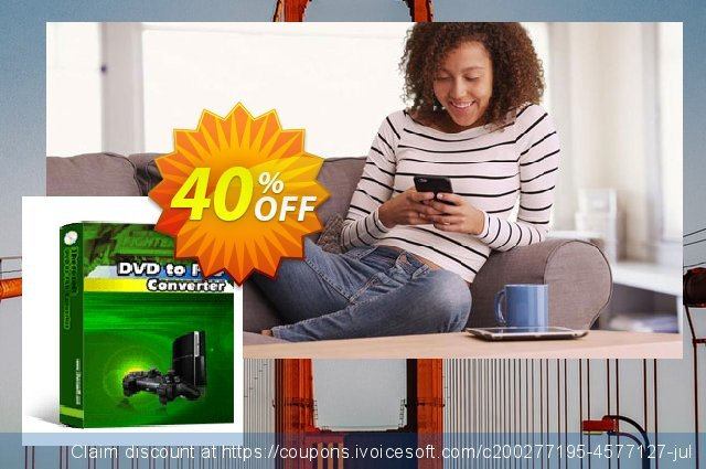 3herosoft DVD to PS3 Converter discount 40% OFF, 2021 New Year's Weekend promo sales