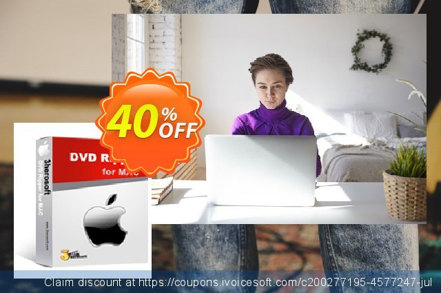 3herosoft DVD Ripper for Mac discount 40% OFF, 2020 Exclusive Student deals offer