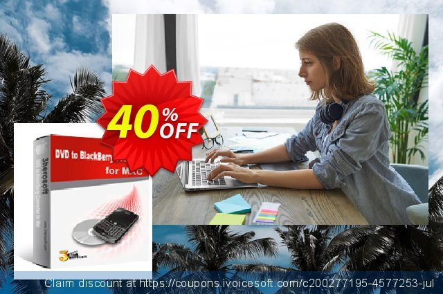 3herosoft DVD to BlackBerry Converter for Mac discount 40% OFF, 2021 All Hallows' evening offering sales. 3herosoft DVD to BlackBerry Converter for Mac Imposing discounts code 2021