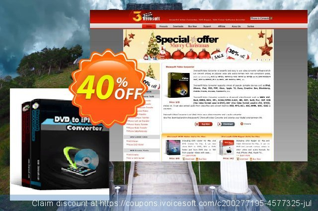 3herosoft DVD to iPhone Suite discount 40% OFF, 2021 National No Bra Day offering sales. 3herosoft DVD to iPhone Suite Formidable sales code 2021