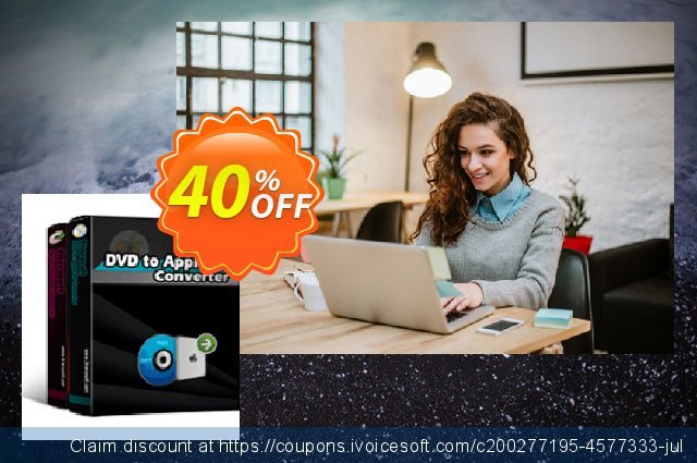 3herosoft DVD to Apple TV Suite discount 40% OFF, 2020 Exclusive Student discount offering sales