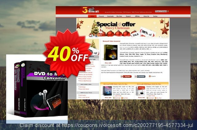 3herosoft DVD to MP4 Suite discount 40% OFF, 2021 Podcast Day offering sales. 3herosoft DVD to MP4 Suite Super offer code 2021