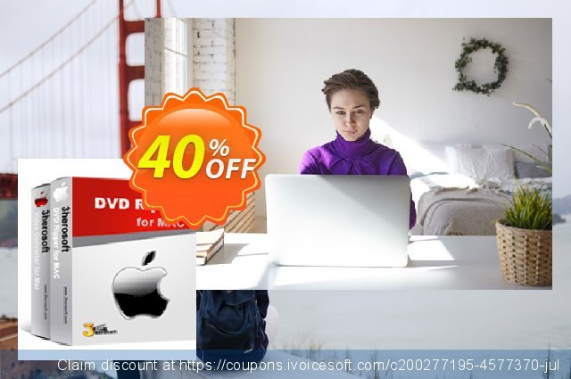 3herosoft DVD Ripper Suite for Mac discount 40% OFF, 2020 Back to School offer offering sales