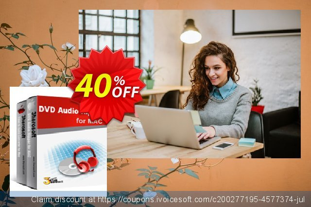 3herosoft DVD to Audio Suite for Mac discount 40% OFF, 2020 Student deals offering sales